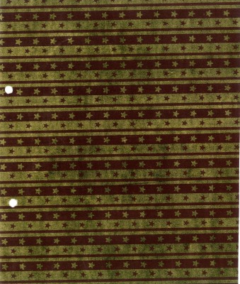 Pinnacle GW032 Stars & Lines Paper Gift Wrapper