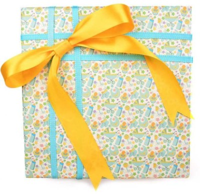The Papier Project WP03 It's a boy Baby Boy Paper Gift Wrapper