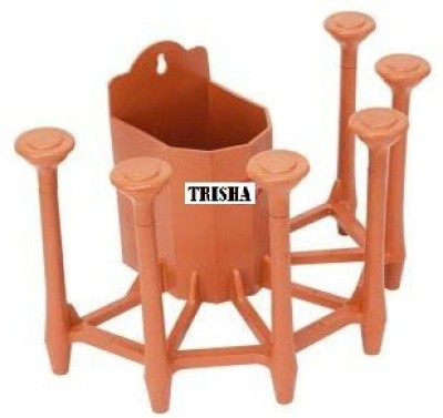 TRISHA 87879 Plastic Glass Holder