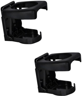 Speedwav Foldable Black Plastic Glass Holder
