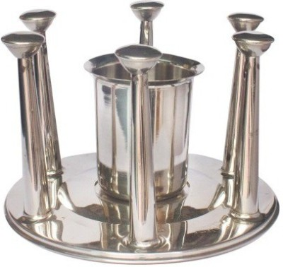 TRISHA 9977 Stainless Steel Glass Holder
