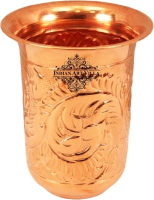 IndianArtVilla Glass(350 ml, Brown, Pack of 1)