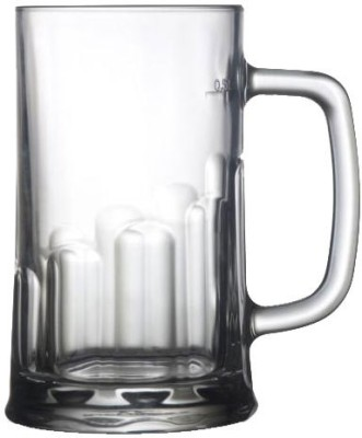 Velik-Premium Glassware Tudor Beer Mug, 0.3L,Set Of 6 Pieces 1111950030