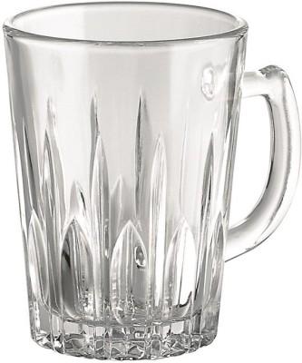 Borgonovo Glass(White, Pack of 6)