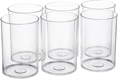 Apex Glass Set(200 ml, Clear, Pack of 6)