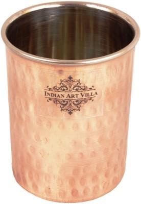 Indian Art Villa Glass(300 ml, Brown, Pack of 1)