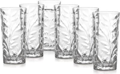 Prego Cipresso Series Glass Set(300 ml, Clear, Pack of 6) at flipkart
