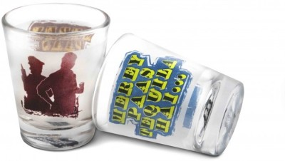Happily Unmarried Vodka - Tequila Kitchen Shot Glass