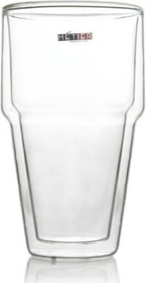 Metier Double Wall Beer Glass - 400ml (2pcs)