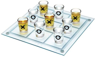 Exciting Lives Tic Tac Toe Shot Glasses