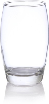 Luminarc Salto H/B Tumbler Glass Set(350 ml, Clear, Pack of 6)