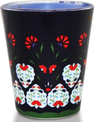 Kolorobia Smile Flowers Turkish Glass Mug