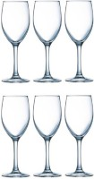 Luminarc Glass Set(350 ml, Clear, Pack of 6)