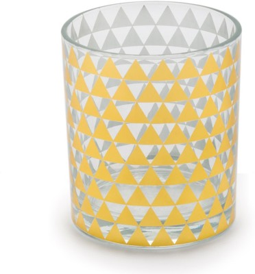 Chumbak Glass(200 ml, Gold, Pack of 1) at flipkart