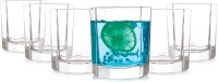Prego Fascino Series Glass Set(180 ml, Clear, Pack of 6)