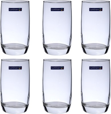 Luminarc Vigne H/B Tumbler Glass Set(290 ml, Clear, Pack of 6)