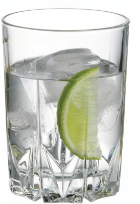 Pasabahce Karat Water Glass Set(250 ml, Clear, Pack of 6)