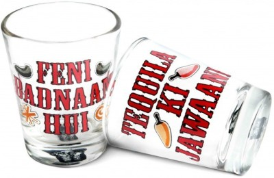 Happily Unmarried Feni Tequila Kitchen Shot Glass