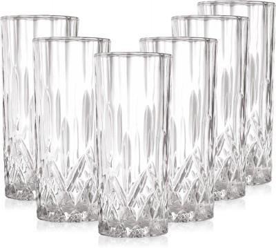Prego Gelido Series Glass Set(250 ml, Clear, Pack of 6) at flipkart