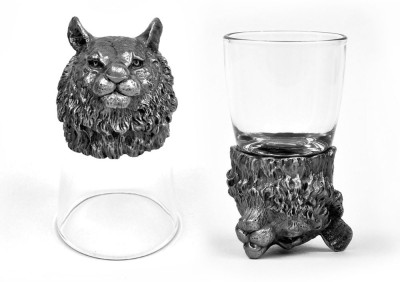 Trove Animal Head Shot Glasses,TR-SG-TIT...