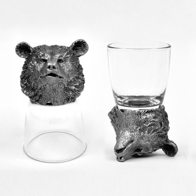 Trove Animal Head Shot Glasses,TR-SG-BEB...