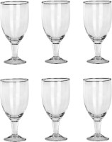 Somil Glass Set(350 ml, Clear, Pack of 6)