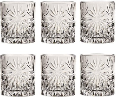 Soga Oasis Glass Set(320 ml, Clear, Pack of 6)