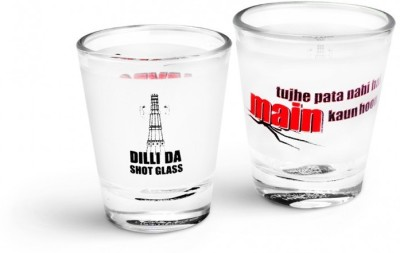 Happily Unmarried Dilli Kitchen Shot Glass