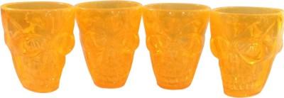 Toygully Skull Shot Glasses/Yellow - glows in dark-628