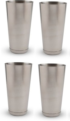 Dynore Glass Set(750 ml, Steel, Pack of 4)