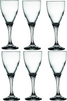 Pasabahce Twist Wine Tumbler Glass Set(180 ml, Clear, Pack of 6)