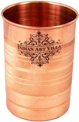 IndianArtVilla Glass Set(300 ml, Brown, Pack of 1)