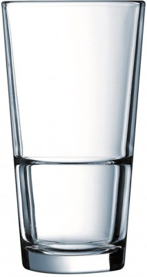 ARCOROC Glass Set(350 ml, Clear, Pack of 6)