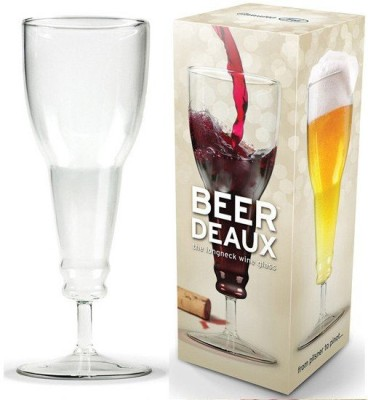 GeekGoodies Inverted Beer Glass Mug