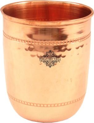 IndianArtVilla Glass(250 ml, Brown, Pack of 1)