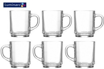 Luminarc Glass Set(160 ml, Clear, Pack of 6)