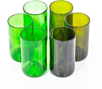 BOTL Premium Combo - Tall Green & Olive Glasses CMB47
