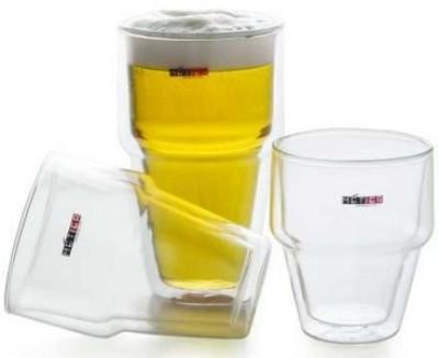 Metier Double Wall Beer Glass - 200ml (2pcs)