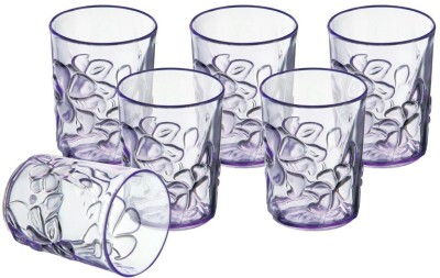 Sukhson India Glass Set(150 ml, Multicolor, Pack of 6)