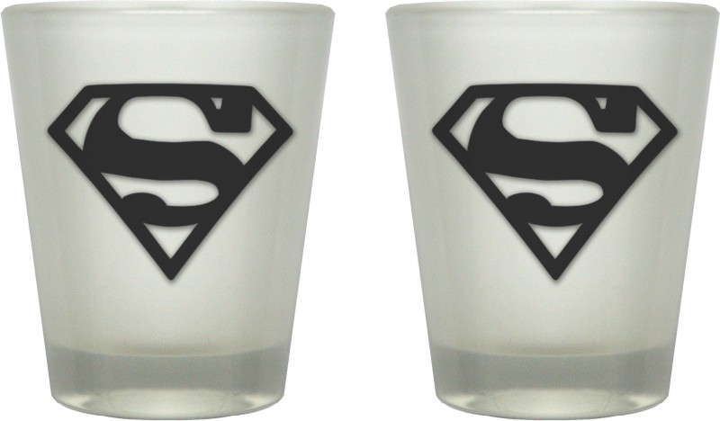 TheLostPuppy Glass Set(60 ml, Black, Pack of 2)
