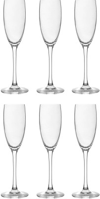 Arcoroc Glass Set(160 ml, Clear, Pack of 6)