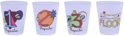 The Crazy Me Tequila does wonders set of Shot Glasses