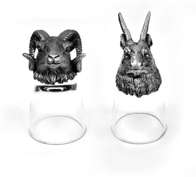 Trove Animal Head Shot Glasses,TR-SG-RMA...