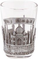 Prachin Shot Taj and India Glass(50 ml, White, Pack of 1)
