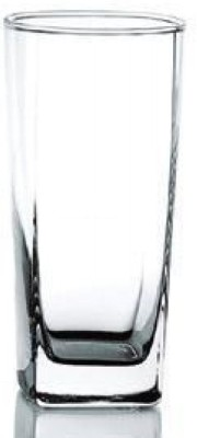 Ocean Plaza Glass Set(405 ml, Clear, Pack of 6)
