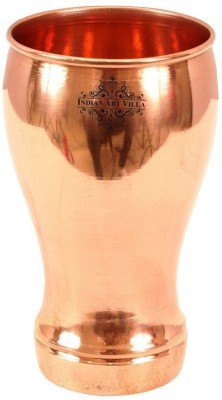 IndianArtVilla Pure Copper Wine Glass Tumbler Goblet   Beer Wine Whisky Bar Hotel