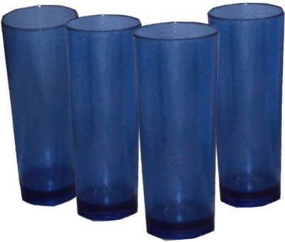 Ektra Superware Blue Plastic Tumblers Set Of 4