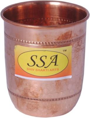 SHIV SHAKTI ARTS Glass(200 ml, Brown, Pack of 1)