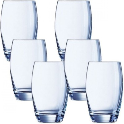 LUMINARC Glass Set(1220 ml, 600 ml, Clear, Pack of 12)