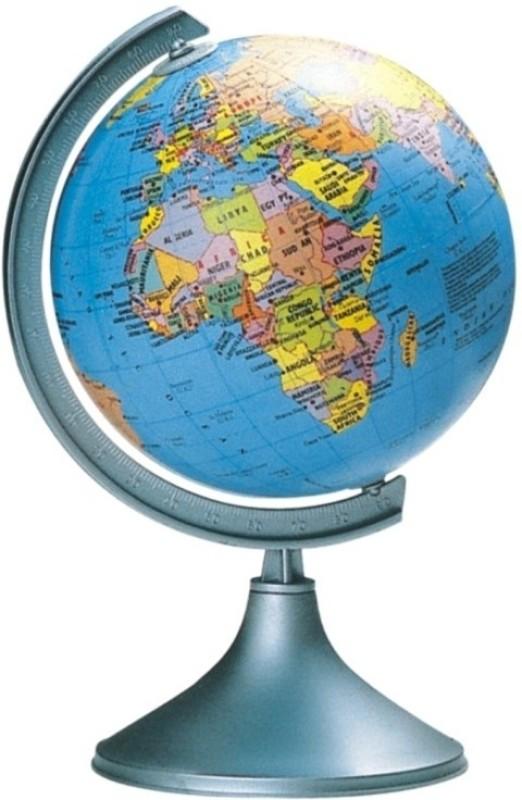 Globus 606 DLX Desk & Table Top Political World Globe(Blue)